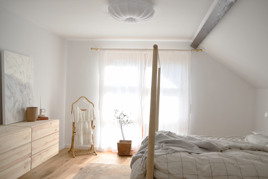Schlafzimmer Renovierung Nachherbild